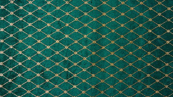Tejido medieval de terciopelo